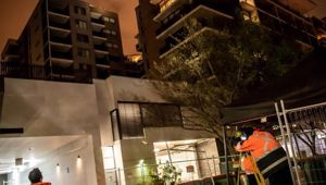 The evacuation has reignited the debate about the integrity of Sydney's high-density living. Photo / Monique Harmer