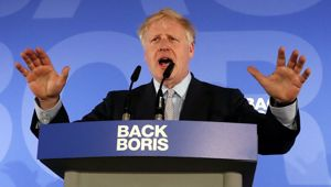 Boris Johnson could likely be the UK's next PM. (Photo / AP)