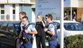 Police attend the scene of an Oranga Tamariki uplifting. (Photo / NZ Herald)