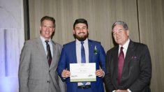 Former Afghan refugee Abbas Nazari wins Fullbright Scholarship