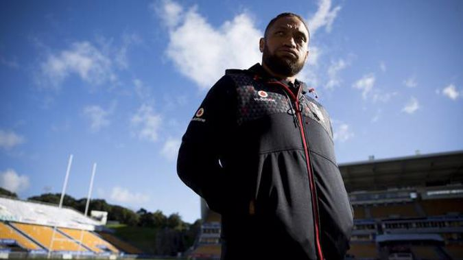 Manu Vatuvei's fledgling boxing career has been ground to a halt after the discovery of a cyst on his brain. Photo / Dean Purcell