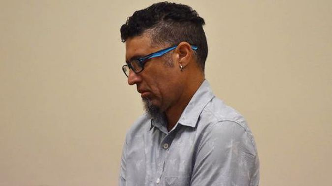 David Cox at a previous appearance in the Whakatane District Court. (Photo / File)