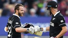 Kane Williamson put in a stunning performance during the match. (Photo / Getty)