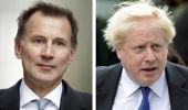 Jeremy Hunt, left, or Boris Johnson will be the next UK PM. (Photo / AP)