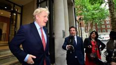 Screaming, shouting and banging': Police called to disturbance at Boris Johnson's home