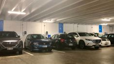 Petrolheads block EV charging sports at Auckland carpark - including Auckland Transport contractor