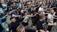 6000 Danish heavy metal fans perform spine-tingling haka for Alien Weaponry