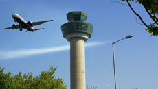 Disruptive woman sees Royal Air Force jets escort passenger plane to London
