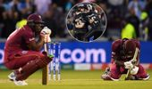 The West Indies were left dejected by the heartbreaking loss to New Zealand. (Photos / Getty)