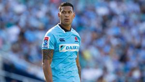Israel Folau continues to fight back after being sacked by Rugby Australia. (Photo / Getty)