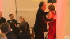 Senior UK politician Mark Field suspended after grabbing Greenpeace protester