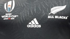 All Black's World Cup jersey reportedly leaked by sports store