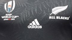A close-up of the new All Blacks jersey. (Photo / Supplied)