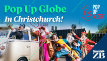 Newstalk ZB welcomes Pop Up Globe to Christchurch