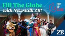 Help 'Fill the Globe' at Pop Up Globe Christchurch