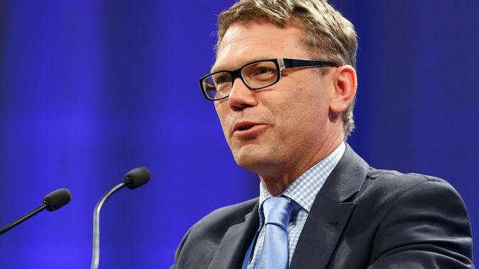 Paul Goldsmith will take on the key finance spokesperson role. (Photo / NZ Herald)