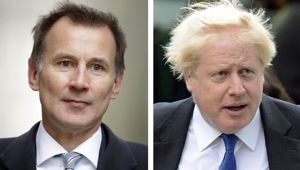 Either Jeremy Hunt or Boris Johnson will be the next UK Prime Minister. (Photo / AP)