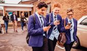 While many Victorian schools have already introduced their own phone bans, this is the first time a statewide ban has existed. (Photo / Getty Images)
