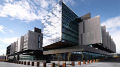 The Christchurch District Court sits within the Justice Precinct in Christchurch. (Photo / NZ Herald)