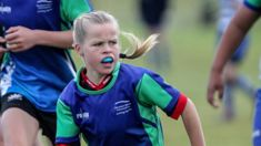 Briar Hales shines at rugby tournament she can't win