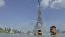 Jo McKenna: Temperature records shatter as heat wave bakes much of Europe