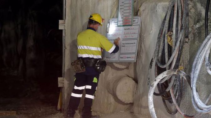 Gawn is standing by the police's handling of the mine investigation (Image / NZH)