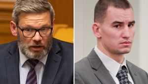 Will Karel Sroubek see the end of Iain Lees-Galloway? (Photo / NZ Herald)