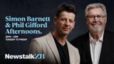 Simon Barnett and Phil Gifford Afternoons