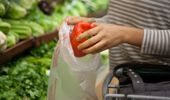 Bags used for fruit and vegetables at supermarkets are still allowed. (Photo / Getty)