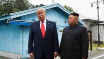 Presidential first: Trump crosses into North Korean territory