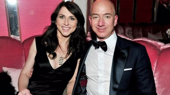 The settlement will make Mackenzie Bezos the fourth richest woman in the world. (Photo /Getty)