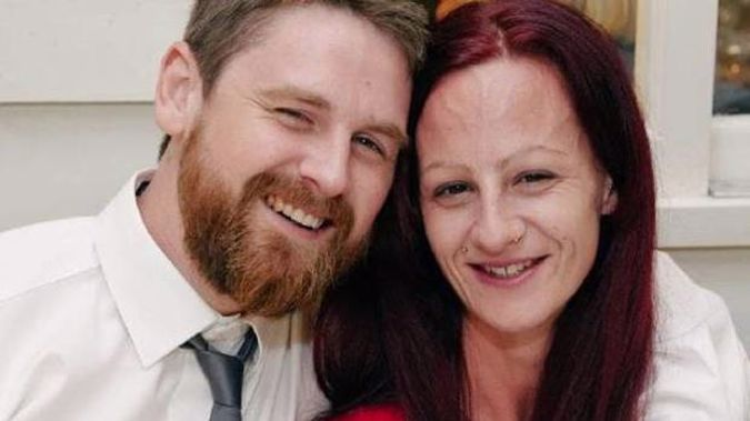 """David Dowell and his partner Allira. David died """"in absolute agony"""" days after friends dared him to eat a gecko. Photo / News.com.au"""
