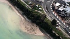 Between 70 and 80 per cent of Taupō's wastewater poured into Lake Taupō. (Photo / Helicopter Services)