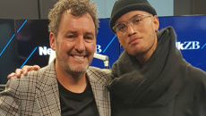 Stan Walker talks with Mike Hosking, performs live in studio