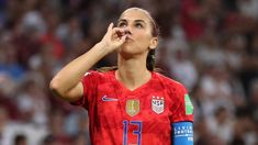 Martin Devlin: There was nothing wrong with Alex Morgan's goal celebration
