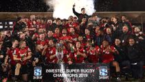 Crusaders claim third-straight title with victory over the Jaguares