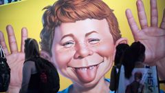 MAD Magazine became will known for its parodies of other parts of the entertainment industry. (Photo / AP)