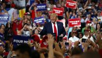 President Donald Trump's approval rating hits highest level