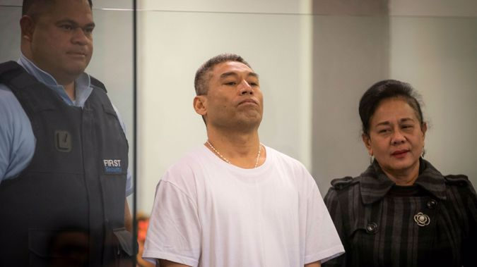 Ueta Vea has been sentenced to life in jail for killing a church bell-ringer. (Photo / NZ Herald)