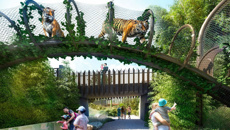 Auckland Zoo's $58m redevelopment will let visitors get up close with animals