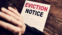Tenant to landlord: I'll smash your head in if you kick me out