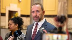 Justice Minister Andrew Little says Government parties are still discussing what abortion reform to put up in Parliament. Photo / Mark Mitchell