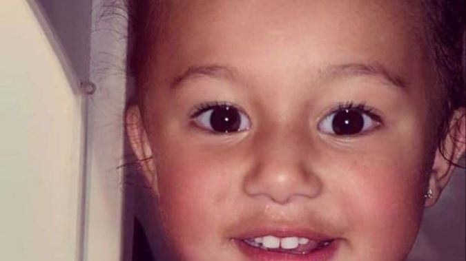 Two-year-old Amirah Najim-Phillips has been in Starship ICU for a month after a serious crash near Waiouru on June 13. (Photo / Supplied)