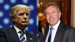 Sir Kim Darroch, rfight, says he feels he cannot perform his duties any longer. (Photo / CNN)