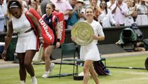 Serena loses Wimbledon final in stunning romp