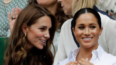 Meghan Markle, Kate Middleton step out together at Wimbledon