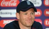 Eoin Morgan is captaining the England side. (Photo / Getty)
