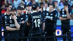 The Black Caps after their dramatic World Cup final defeat to England. (Photo / Getty)