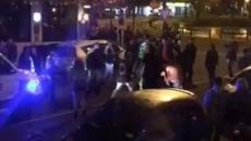 Five arrests after gang brawl erupts in central Dunedin street