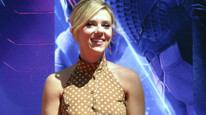 Scarlett Johansson has apologised over the comments. (Photo / AP)